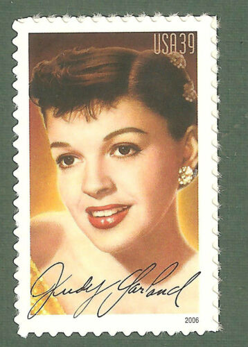 2006 Judy Garland Single 39c Postage Stamp - Sc# - 4077 - MNH, OG - CX746