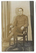 Load image into Gallery viewer, WW1 Era Germany Photo Postcard Of Soldier (OO28)