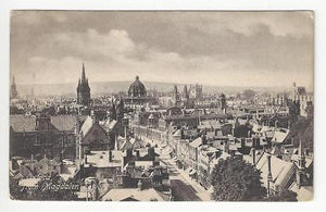 1908 Britain Photo Postcard - Oxford At Magdalen Tower - Read Reverse (AL58)