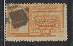 1893 USA Special Delivery E3 - Used - Cat = $50 - (BS24)