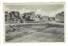 Load image into Gallery viewer, 1953 Belgium Photo Postcard - Duinbergen - Tennis Courts (XX14)