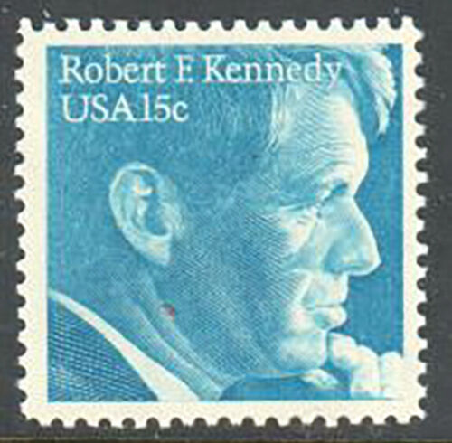 1979 Robert F. Kennedy Single 15c Postage Stamp - Sc# -1770 - MNH, OG - CX670b
