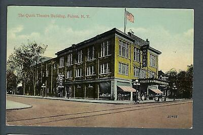 VEGAS - 1913 Fulton, NY - The Quirk Theatre Building - FD373