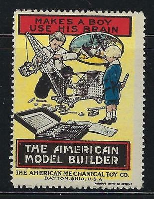 VEGAS - American Mechanical Toy Co. Promotional Poster Stamp - Read Desc (CR61)