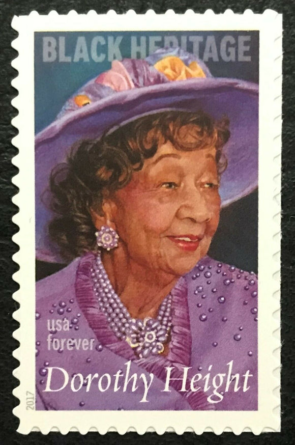 Dorothy Height Black Heritage Single Forever Postage Stamp - MNH, OG - Sc# 5171