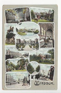 Early 1900s Britain Picture Postcard - Windsor - (With Tear) (AL66)