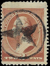 Load image into Gallery viewer, VEGAS - 1883 USA Sc# 210 - Used - Strong Star Fancy Cancel - EG74