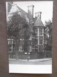 1954 Great Britain, London Real Photo Postcard - Lutheran House (WW48)
