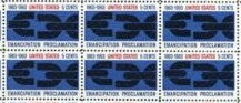 1963 Emancipation Proclamation Block Of 6 As Shown In One Of the Photos - Sc 1233 - MNH - CW467b