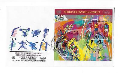 1996 United Nations Geneva -# 291 Full Sheet MNH, OG and FDC -See 2 Scans (CO86)