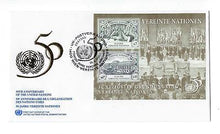 Load image into Gallery viewer, United Nations Vienna - Sc# 188 FDC & MNH Souvenir Sheet - See 2 Scans- (CO68)