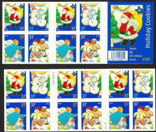 2005 Christmas Holiday Cookies Booklet Pane Of 20 37c Postage Stamps Sc# 3956b - MNH - DG102
