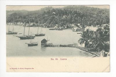 1908 Italy Photo Postcard Posted In USA - Lucca (AJ17)