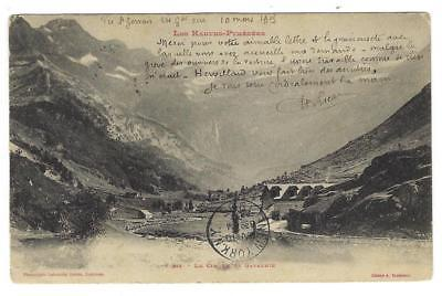 1905 France Photo Postcard - Les Hautes, Pyrenees Mountains (XX78)