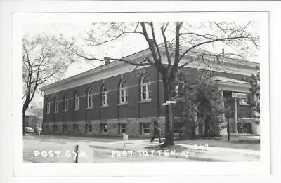 Vintage Real Photo Postcard - Post Gym, Ft. Totten, NY - (AO36)