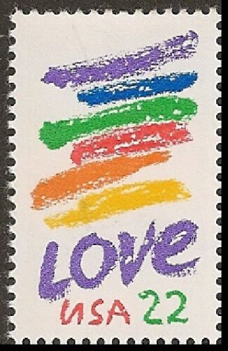 1985 Love Single 22c Postage Stamp - Sc# 2143 - MNH, OG - CX881a