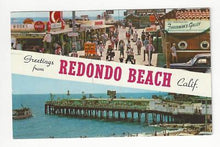 Load image into Gallery viewer, 1958 USA Photo Postcard - Redondo Beach, CA - Read Rev (AQ39)
