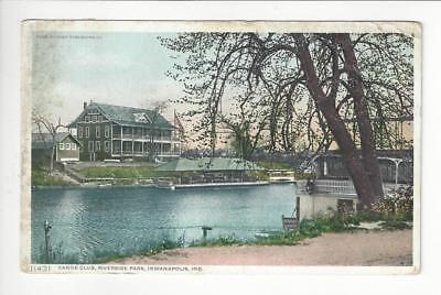 Posted 1911 USA Postcard - Riverside Park, Indianapolis, IN (AT112)