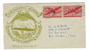 "VEGAS - 1949 USA ""A Strong Navy Second To None"" Cover - FD277"