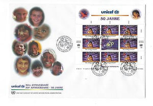 1996 UN United Nations Vienna Sc # 211 Quality First Day Cover (CN91)