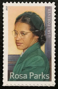 2013 Rosa Parks Single Forever Stamp - MNH, OG - Sc# 4742- CX935a