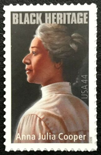 2009 Anna Julia Cooper Single 44c Postage Stamp - Sc# - 4408 - MNH, OG - CX851a