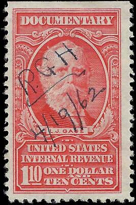 VEGAS - 1954 Sc# R668 - $1.10 - Documentary Revenue - Clean! - EX46