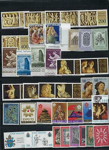 VEGAS- ~1960s-70s Vatican City Sets As Shown - Unchecked - Verified MNH -(DP114)