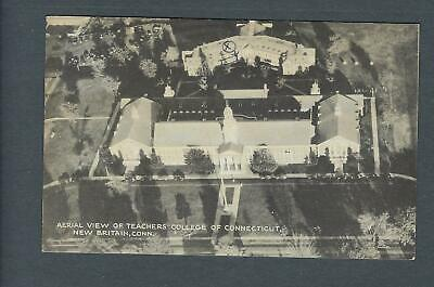 VEGAS - Posted 1944 Photo Postcard Teachers College, New Britain, CT - FD359