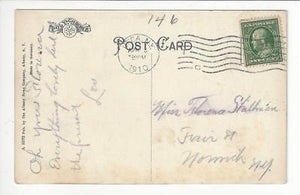 Posted 1910 Utica, NY USA Postcard- Faxton Hospital, Utica (AT50)