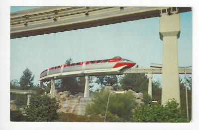 Vintage Disneyland Photo Postcard - Monorail At Tomorrowland (AQ149)