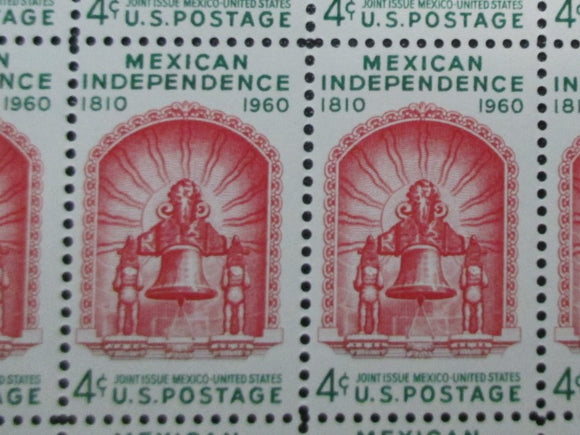 VEGAS - 1960 Mexican Independance Pair Of Stamps - Sc 1157 - MNH - DS130