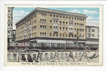 Load image into Gallery viewer, Vintage USA Postcard- Hotel New Belmont, Boardwalk, Atlantic City, NJ (AH75)
