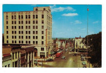 Load image into Gallery viewer, Est 1950s USA Photo Postcard - Main Street, Mansfield, OH (AP69)