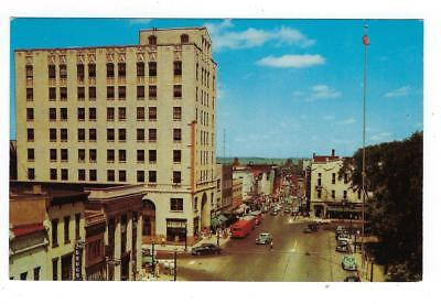 Est 1950s USA Photo Postcard - Main Street, Mansfield, OH (AP69)