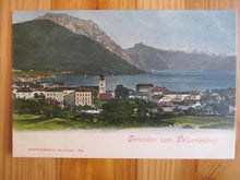 Load image into Gallery viewer, Est Early 1900s Austria Picture Postcard - Gmunden Vom Galvarienberg (ZZ130)