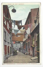 Load image into Gallery viewer, Vintage Canada Picture Postcard - Sous Le Cap, Quebec - Narrowest Road (AL7)