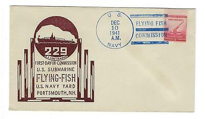 VEGAS - 1941 USA Submarine USS Flying-Fish - 3 Days After Pearl Harbor - ED82