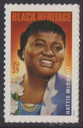 2006 Hattie McDaniel Single 39c Postage Stamp - Sc# 3996 - MNH, OG - CX42a