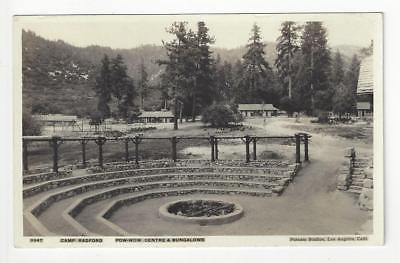 1931 USA Real Photo Postcard - Camp Radford, Putnam Studios, Los Angeles - (AO8)