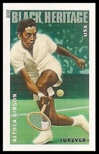 2013 Althea Gibson Single Forever Postage Stamp - Sc# 4803 - DR154a