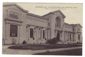 1922 France Photo Postcard - Marseille Colonial Exposition (ZZ74)