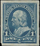 VEGAS - 1894 USA Sc# 247P4 Proof On Card - MH Partial OG - EB26