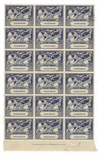 Load image into Gallery viewer, 1949 Bahamas Scott #151 - Block of 18! MNH, OG (Gum Crease) (BW98)