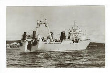 Load image into Gallery viewer, Vintage Germany(?) Photo Postcard - Atlantic Supertrawler - (AP32)