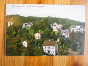 Vintage Germany Photo Postcard - Friedrichroda (YY134)