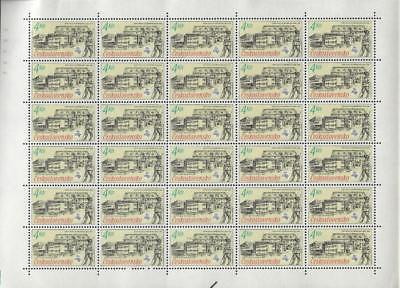 1988 Czechoslovakia Full Sheet Of 30! Scott # 2699 - MNH OG- (CG82)