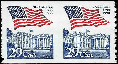 VEGAS - 1991-93 Sc# 2609b Pair Imperf Between - MNH, OG - Centering! - ET55