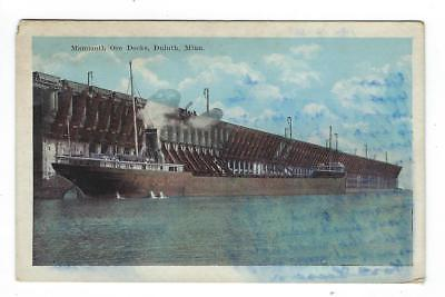 Vintage USA Picture Postcard - Mammoth Ore Docks, Duluth, MN (AP56)