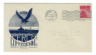 VEGAS - 1944 Submarine USS Perch (Second) Commission- READ History Excerpt- ED35